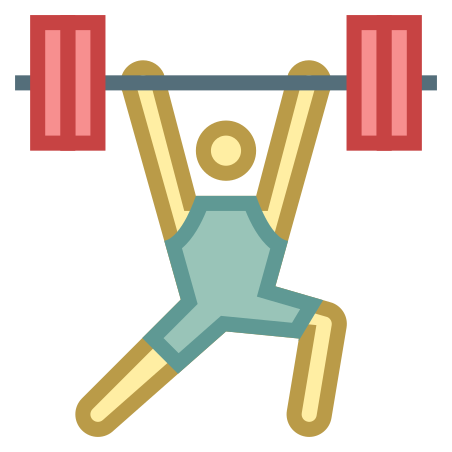 Weightlifting icon