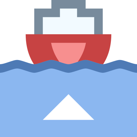 Boat Leaving Port icon