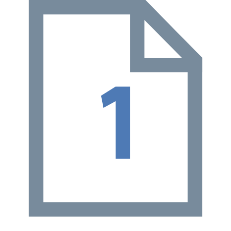 One Page icon