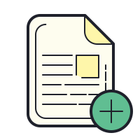 Create Document icon