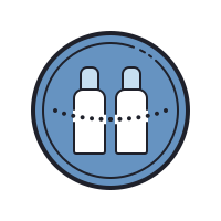 Cylinders Chained icon