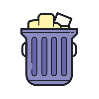 Full Trash icon