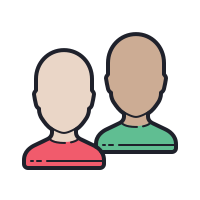 Gender Neutral User Group icon