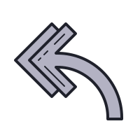 Reply All Arrow icon
