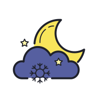 Snowy Night icon