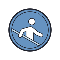Use Handrails icon