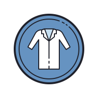 Wear Laboratory Coat icon