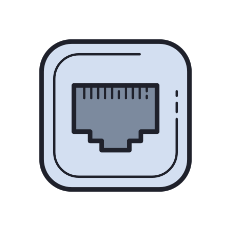 Ethernet Off icon