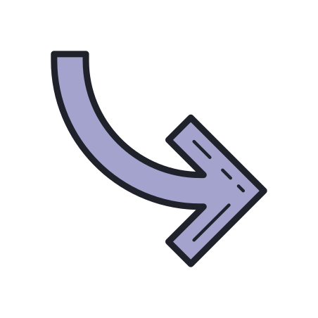 Curved Arrow icon
