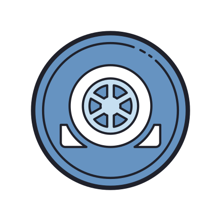 Wheels Chocked icon