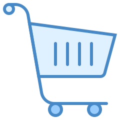 ultraviolet shopping-cart icon
