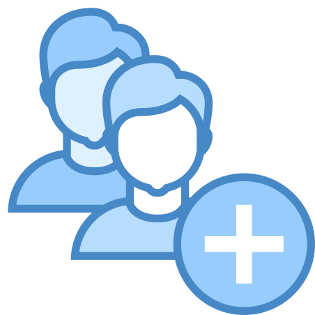 Add User Group Man Man icon