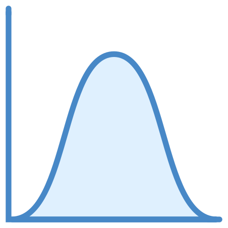 Normal Distribution Histogram icon