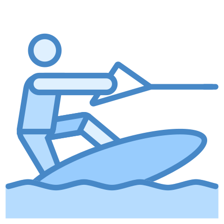 Wakeboarding icon